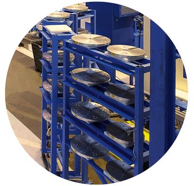 Pièces détachées pour réparation de machines outils Pegard